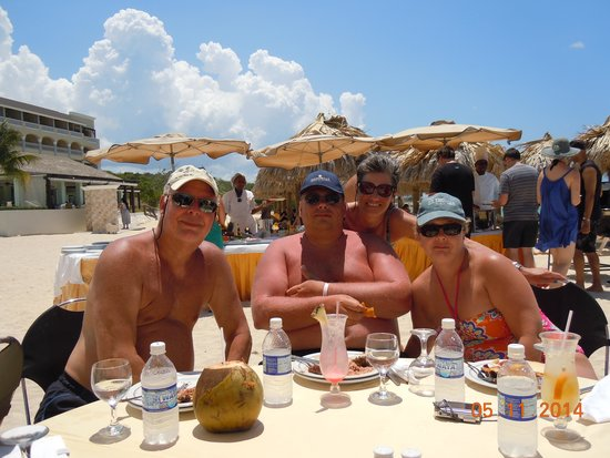 Iberostar Grand Hotel Rose Hall: great cookouts on the beach