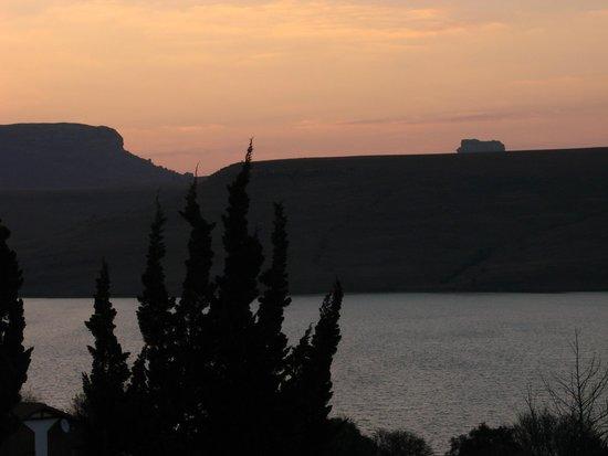 Qwantani Berg and Bush Resort: Sunset view