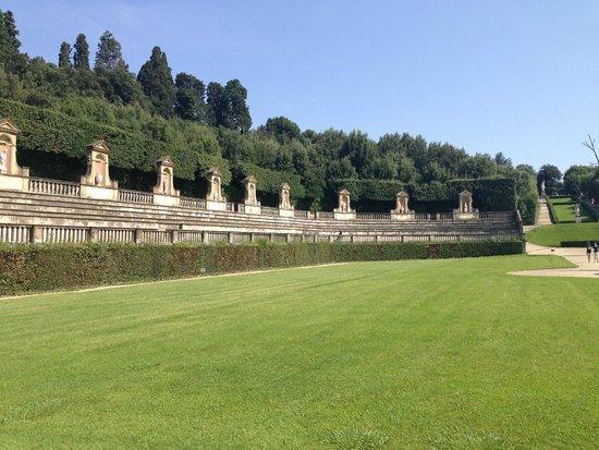 Boboli Gardens: a grand entrance