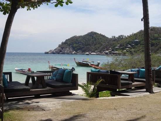 Haadtien Beach Resort: View from resturant