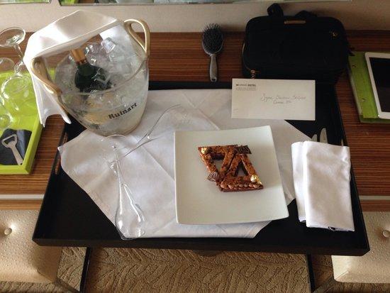 Le Grand Hotel : Dolcetto piu champagne