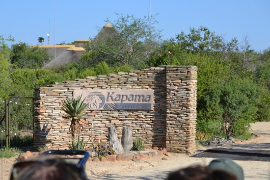Kapama River Lodge: Entrée