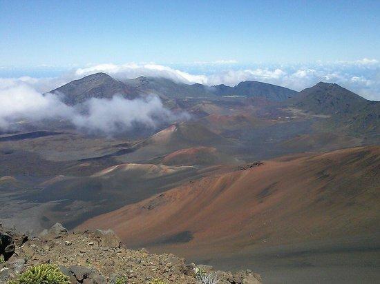 Haleakala Crater : Crater