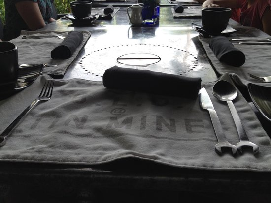 The Slate: Funky place settings and cutlery