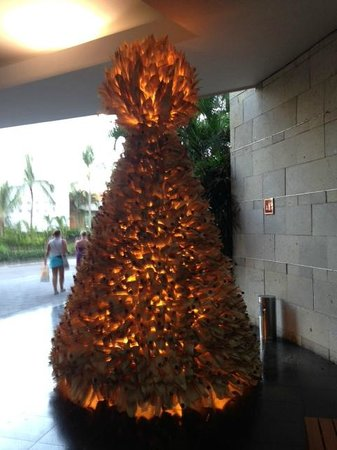 Mayan Palace Puerto Vallarta: Christmas Tree- so unusual
