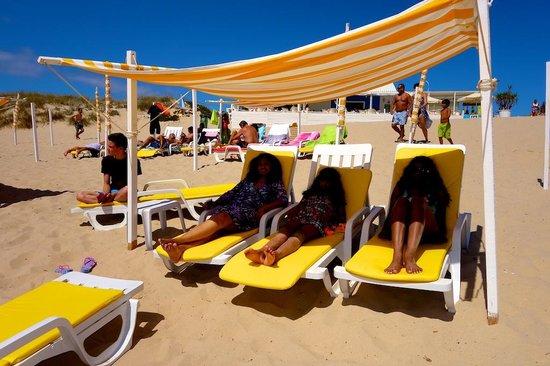 Costa de Caparica: Relaxing