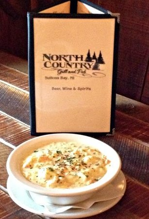 North Country Grill and Pub: House Made Lobster Chowder
