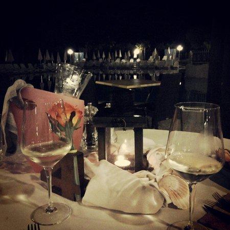 Appartamenti Arca & Ca' Mure : Вид на бассейн из ресторана