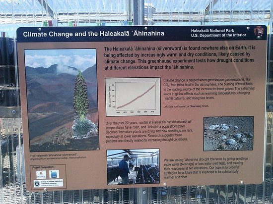 Haleakala Crater : Sign