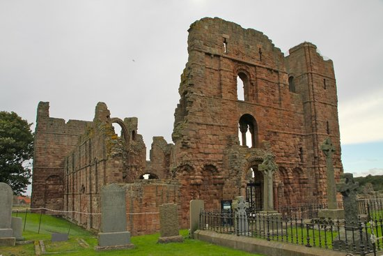 Lindisfarne Priory: From the out side