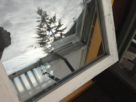 Galiano Oceanfront Inn and Spa: Paint peeling