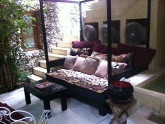 Hotel Casa Lola: living
