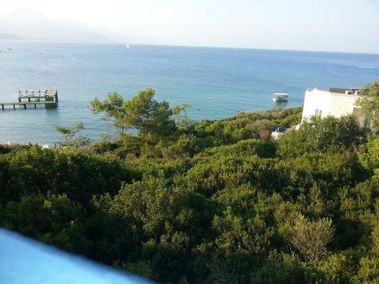 Club Med Kemer: vue sur la mer