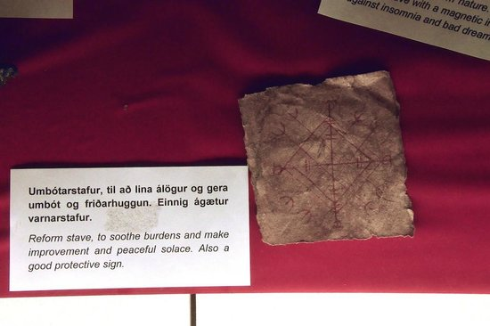 Museum of Icelandic Sorcery & Witchcraft: Charm on Skin