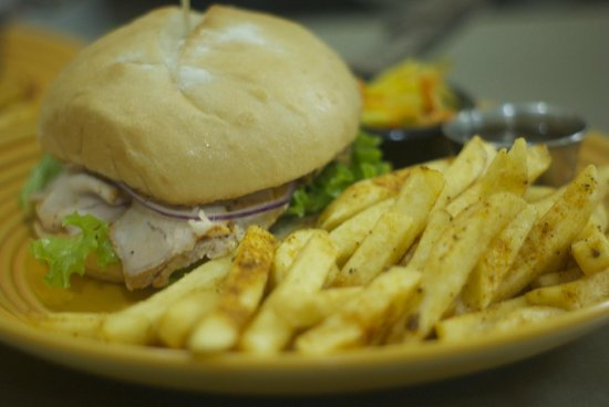 Rustico Bistro: Roasted Pork Tenderloin Sandwich