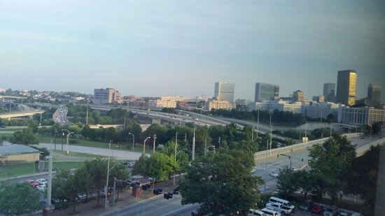 Ramada Plaza Atlanta Downtown Capitol Park: Atlanta from my room (923)...