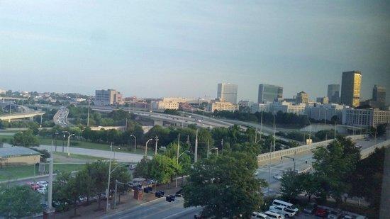Ramada Plaza Atlanta Downtown Capitol Park: Atlanta from my room (923)...