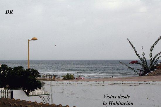 Hostal Playa: vista desde la habitacion