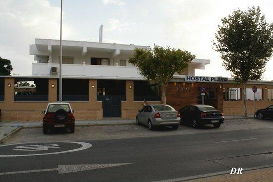 Hostal Playa: fachada