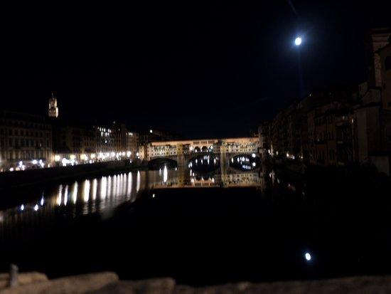 Gelateria Santa Trinita : Vistas desde el Ponte S.Trinita