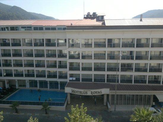 Hotelus Royal : Вид из Blue rainbow