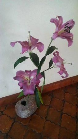 Casa Fernanda Hotel Boutique: Beautiful flowers