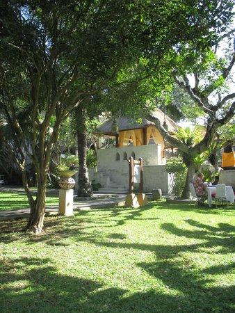 Griya Santrian: jardin