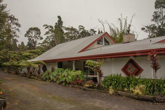 Lokahi Lodge : Le Lokhali Lodge, la chambre à l'étage est un quasi appartement