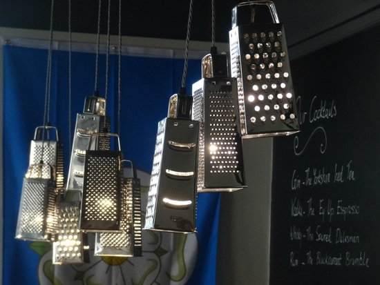 The Yorkshire Meatball Co: Grater lamps!