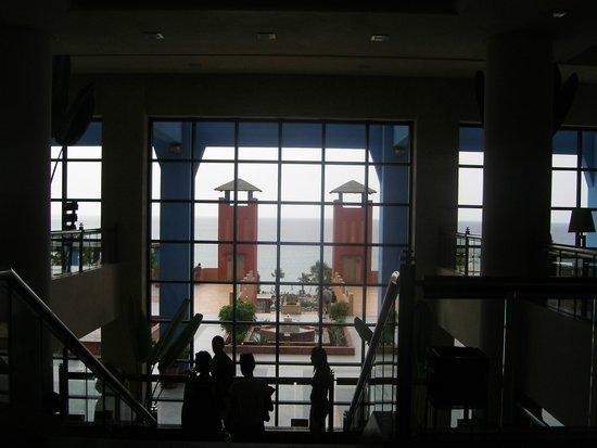 H10 Tindaya: Vista desde la recepción
