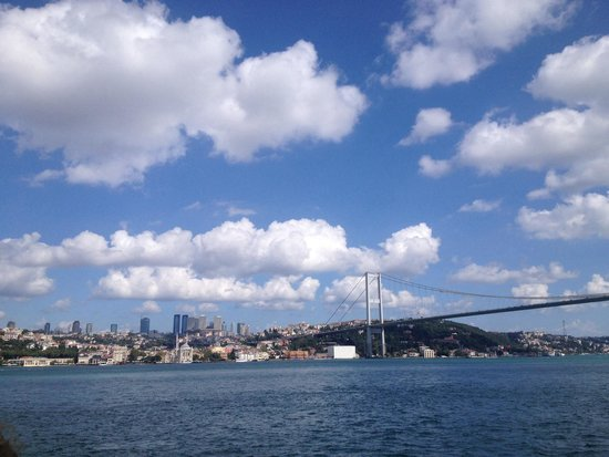 Bosphorus Strait : In boat