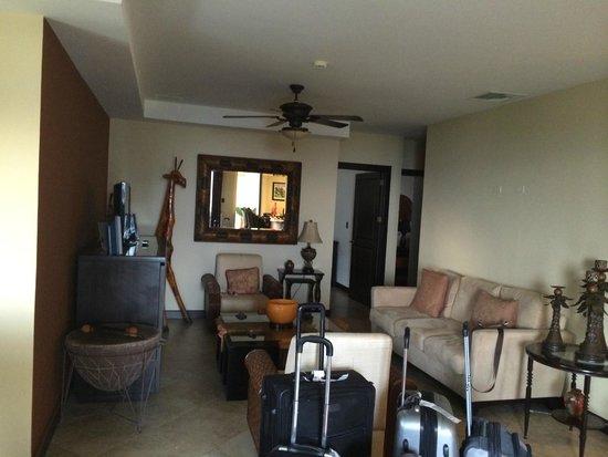 ATV Adventure Tours Costa Rica : Living room at the condo