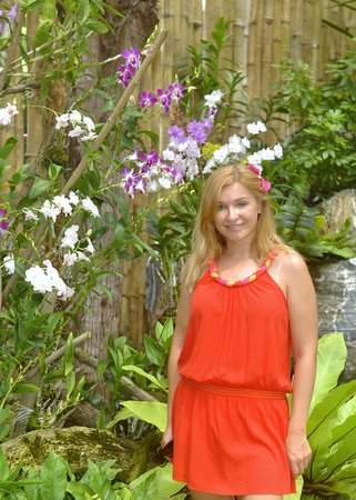 Kurumba Maldives: Orchid gardens of the hotel!
