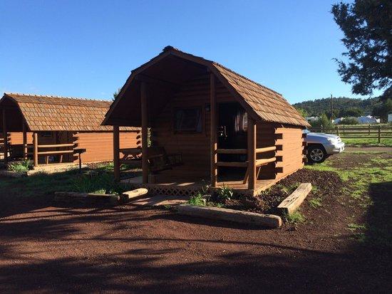 Grand Canyon / Williams KOA : Cabin #3