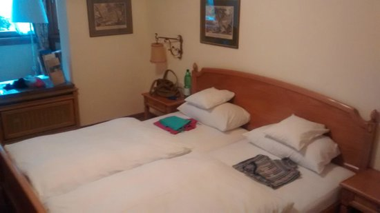 Reindl's Partenkirchner Hof: Camera da letto