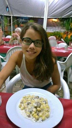 Osteria La Magione: Gnocchi al tartufo.  Best thing we ever ate.
