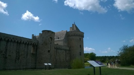 Chateau de Suscinio : Château de Suscinio côté