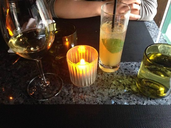 Vero Bistro Moderne: creative selections of non- alcoholic drinks