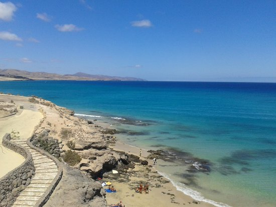 Hotel R2 Pajara Beach : La playa del hotel