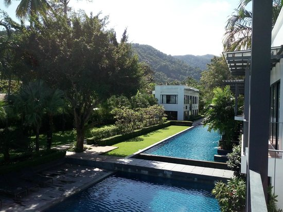The Chill Resort & Spa, Koh Chang: La piscine vue du balcon