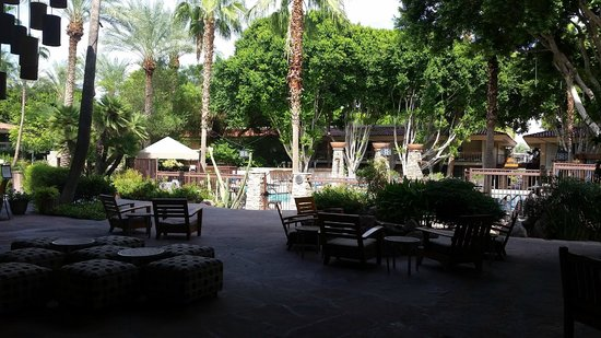 FireSky Resort & Spa - a Kimpton Hotel: Pool, lounge area