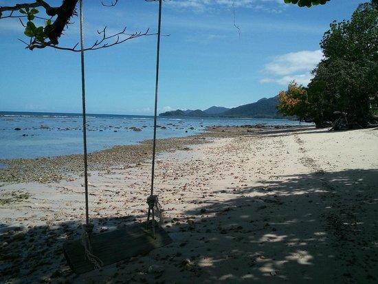 The Chill Resort & Spa, Koh Chang : La plage à marée basse