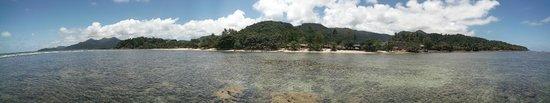 The Chill Resort & Spa, Koh Chang : La plage vue de la mer