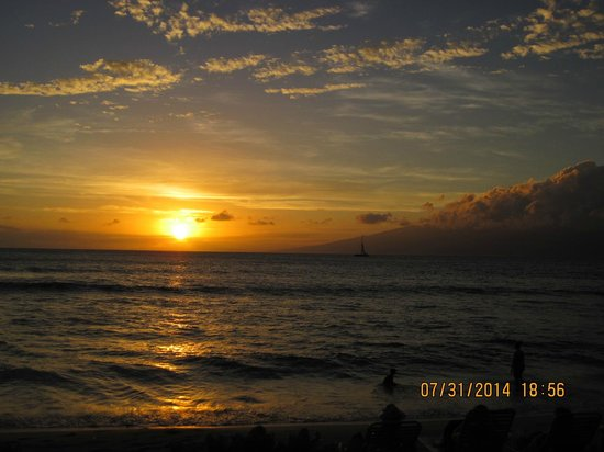 Aston Kaanapali Shores: Gorgeous Maui sunset