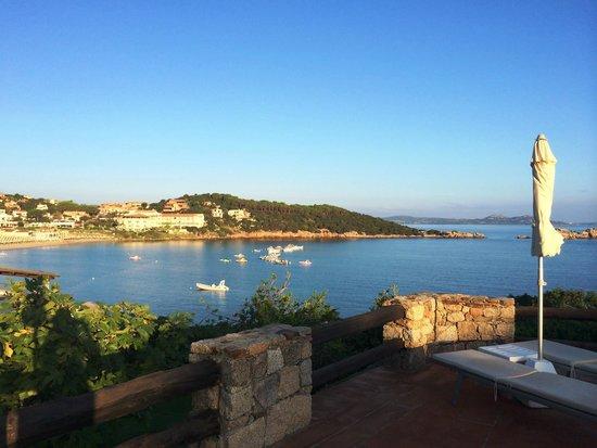 Hotel La Bisaccia : Vista desde la piscina