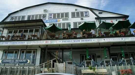 The Dockside Inn & Restaurant: The Restaurant