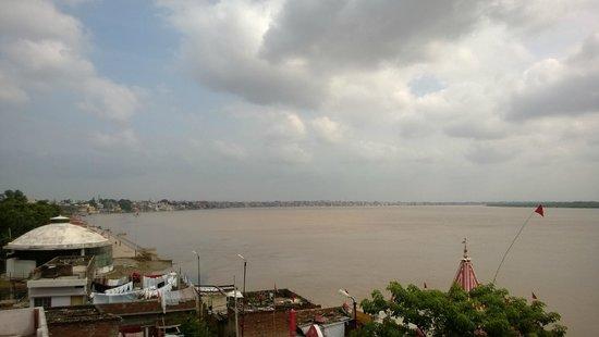 Rahul Guest House : Vista desde la terraza