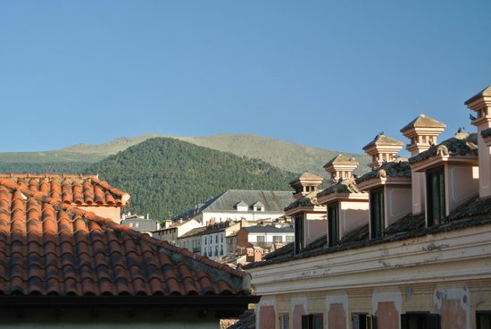 Parador de Turismo de La Granja: View from room