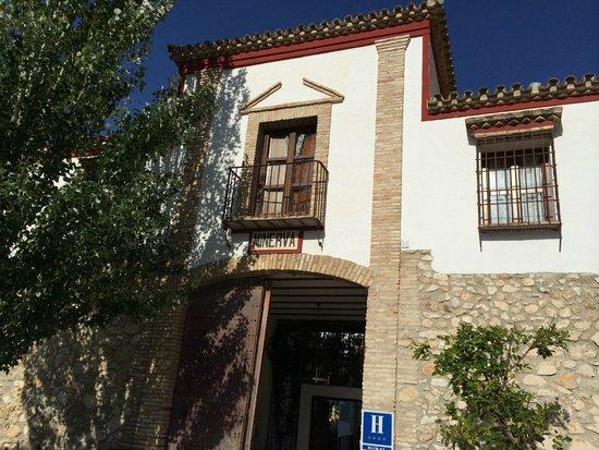 Hacienda Minerva: the main entrance to the Hacienda