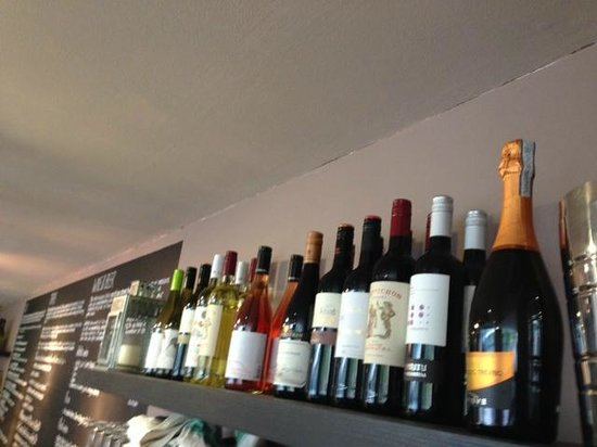 Street Bar: A small but excellent selection of wine from our local merchant